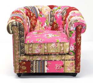 Muebles-Sillon-Chester-Capitone-Patchwork-Calido