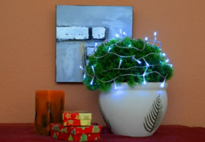 vánoční dekorace nabudí tu pravou atmosféru