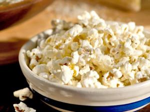 Tradiční a oblíbené popcorn.