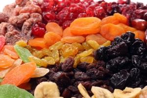 Připravte si sušené  ovocné pochoutky
