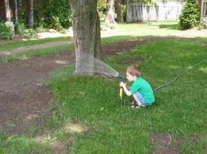 Nezapomeňte na správnou závlahu svého trávníku