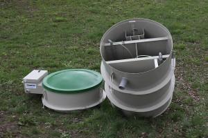 Čistička odpadních vod je k dispozici v mnohých variacích /