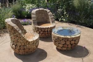 přírodní nábytek