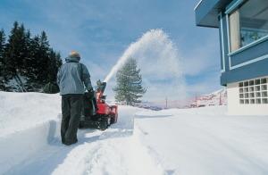 Sněhová fréza přijde v zimě vhod /