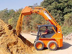 Při stavbě nebo rekonstrukci se mnohdy neobejdete bez techniky /