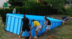 Naplánujte si usazení nového bazénu /