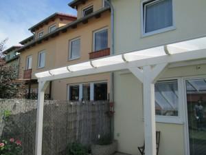 Na střechu pergoly můžete použít polykarbonát /