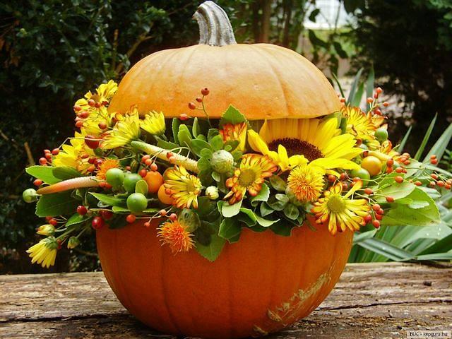 P stov n d n kutilzahradn for Autumn flower decoration